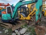 10石川岛50二手挖掘机带拐臂进口挖机
