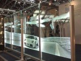 钢化激光内雕玻璃加工 发光玻璃导光玻璃