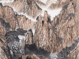 河南现代著名山水画家-吴优