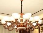 马到成功灯 中式吊灯 锌合金客厅吊灯 水晶灯