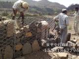锌铝合金格宾网护坡填充石料的施工方式