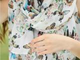 春夏季新款雪纺丝巾围巾 女蝴蝶韩版空调防晒两用超长丝巾 R-24