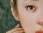 民国美女油画