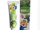 PORORO 小企鹅 口腔护理儿童洗护清洁剂个人清洁纸牙膏 哈密