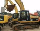 求购二手挖掘机低价转让卡特320d郑州二手挖机交易市场