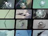 福永沙井松岗石岩三木汽车玻璃长裂缝修复玻璃修补