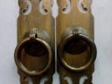 3公分宽10公分长直条拉手  抽屉拉手 明清中式仿古纯铜家具拉手