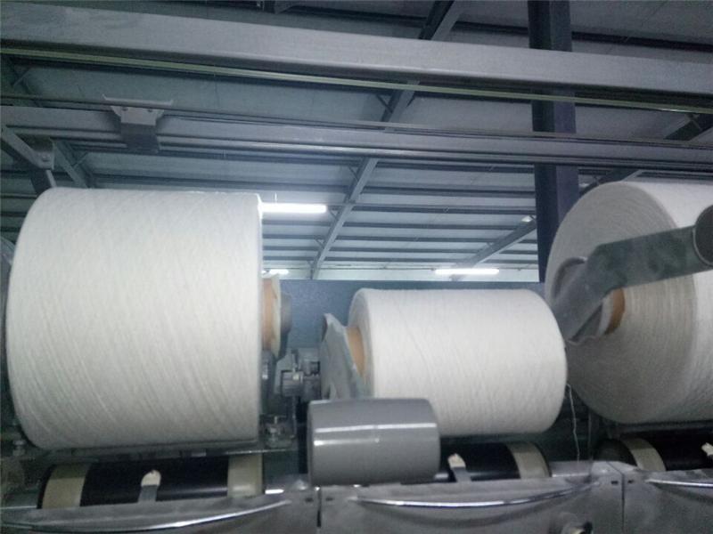 供应涤纶纱线 仿大化涤纶纱,环锭纺瑞士自落47支