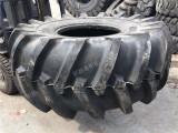 前进大力士冷再生机轮胎28L-26 LS-2花纹 路拌机
