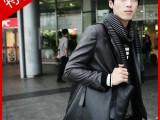 日韩pu包 2014特价促销新款男包 手提单肩大包  休闲品牌潮