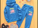 童装 2015春秋款新款韩版男童女童儿童纯棉套装 厂家直销韩国潮