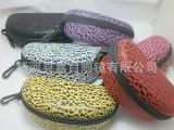豹点EVA眼镜盒 豹点太阳镜眼镜盒 豹点拉链包眼镜盒 可以做LO