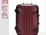 酒红色变形金刚ABS高品质万向轮大黄蜂密码拖箱 拉杆行李旅行箱
