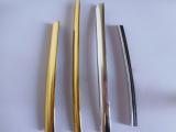 厂家批发 精致耐磨装饰条定制 PVC塑料异型材 塑料条 u型卡槽