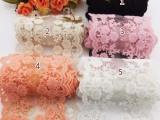 1米-高档加厚11cm蕾丝雪纺配件 DIY蝴蝶结发饰丝带材料