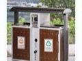 阜阳销售塑料环卫垃圾桶 钢木垃圾桶 铁皮垃圾桶