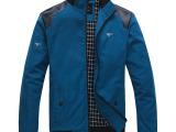 新品上市男装七皮狼2015春季新款男士立领夹克单衣休闲外套男夹克