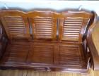 个人家用实木沙发出售