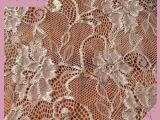 经销批发 新款针织女装蕾丝面料 锦氨丝经编蕾丝面料