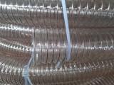 透明聚氨酯管河南木工设备除尘管耐高温回弹性能好