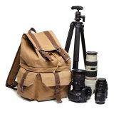 单反相机休闲摄影帆布包 双肩户外旅行包摄
