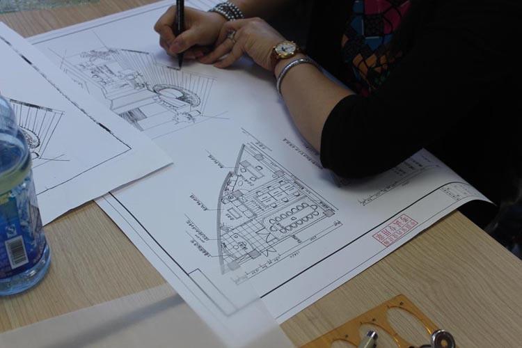 上海室内设计师培训 软装培训 CAD培训实战授课