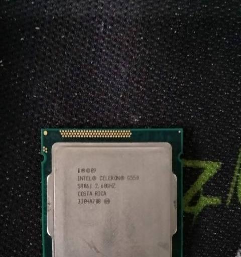 转让intel双核G550处理器 65元