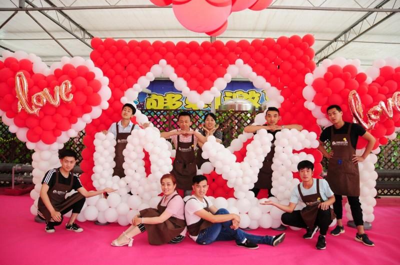 气球培训布置装饰百天/求婚婚礼/12岁生日策划庆典