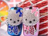 钻石Hellokitty凯蒂猫迷你个性袖珍女生水钻饰品吊坠卡通小手机