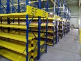 倉庫儲存工廠廠房置物貨架 可定制高承重中型不銹鋼四層貨架