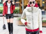 2015新款女冬女装羽绒服加厚休闲短款韩版棉衣女连帽棉服
