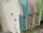 2017麻棉短袖t恤衫、纯棉短袖t恤衫、新款麻棉短袖绣花t恤