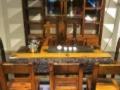 南宁老船木客厅沙发组合新中式实木沙发套装沙发