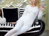 【荣樱】厂家直销女士牛奶丝 超柔暖舒绒 内衣批发保暖内衣套装
