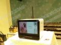 立式42寸显示屏微信二维码打印机租赁全自动打印