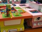 太空沙桌 串珠玩具 积木桌 儿童乐园 手工体验馆