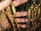 近百年古铜撒网手工制作响铜撒网大力马线可以补大鱼