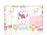 新生婴儿服装 春秋宝宝纯棉礼盒 品牌婴儿针织用品 婴儿口水巾