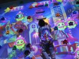 互动投影攀岩AR体感儿童乐园拓展设备