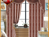 热销热卖 精美高档古典欧式窗帘 优质窗帘布料
