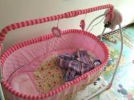 婴儿床可折叠电动摇床转让