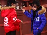 童装短款羽绒棉衣2014中小女童冬装棉袄新韩版89连帽时尚加厚棉