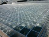 钢格板 电建平台钢格栅板 插接镀锌钢格板 重型插接钢格板