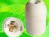 VDE E27-A/1 E27塑料卡式光身灯头