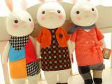 批发供应metoo正版 咪兔新款提拉米苏兔公仔 毛绒玩偶女生礼物
