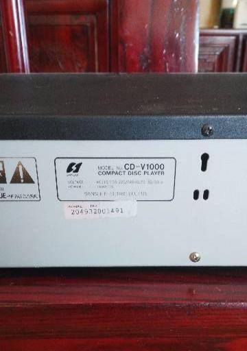 日本原装山水发烧CD机