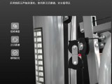 山西 健身房器材厂家单人站训练器