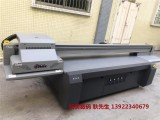 广州理光2513平板打印机 艺术玻璃3d瓷砖背景墙uv打印机