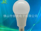 A80新款球泡灯套件 压铸A80塑包铝球泡灯外壳配件 A80球泡
