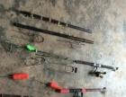 二手渔具出售,不想钓鱼了,全部卖了,还有些小配件一起卖了!